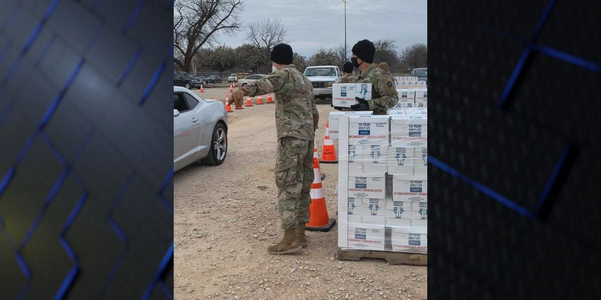 City of WF to host two more water distribution events this week