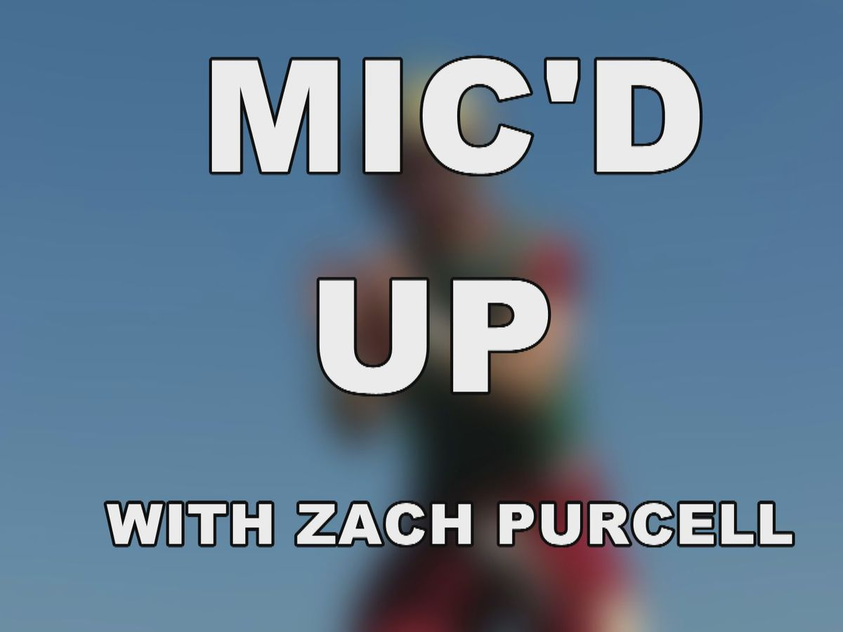 Midwestern State QB Zach Purcell Mic'd up