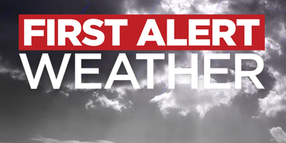 The risk of severe storms makes Tuesday & Wednesday First Alert Days