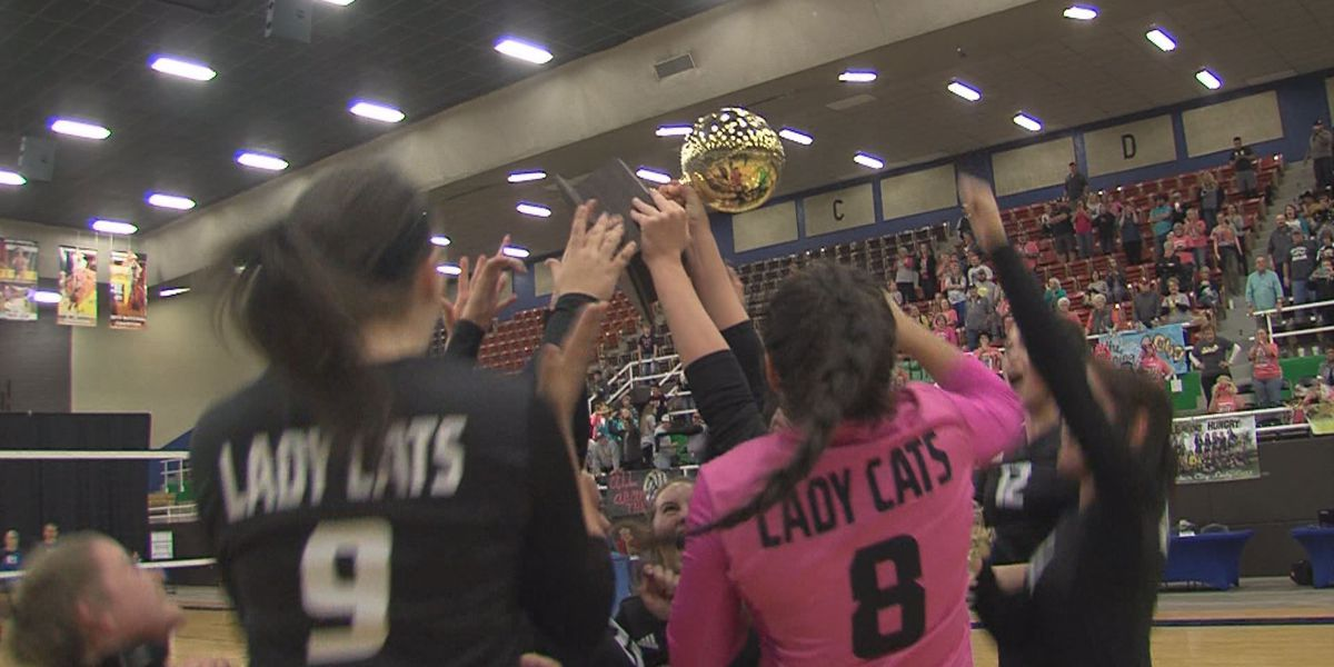Archer City vs. Windthorst Volleyball Regional Final