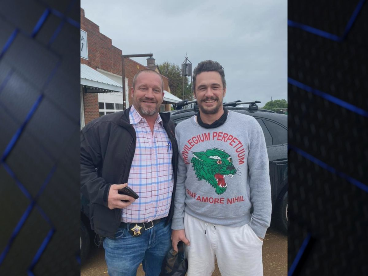 James Franco visits Archer City to buy books