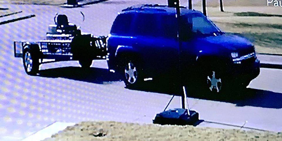 Police searching for info into trailer theft in Burkburnett
