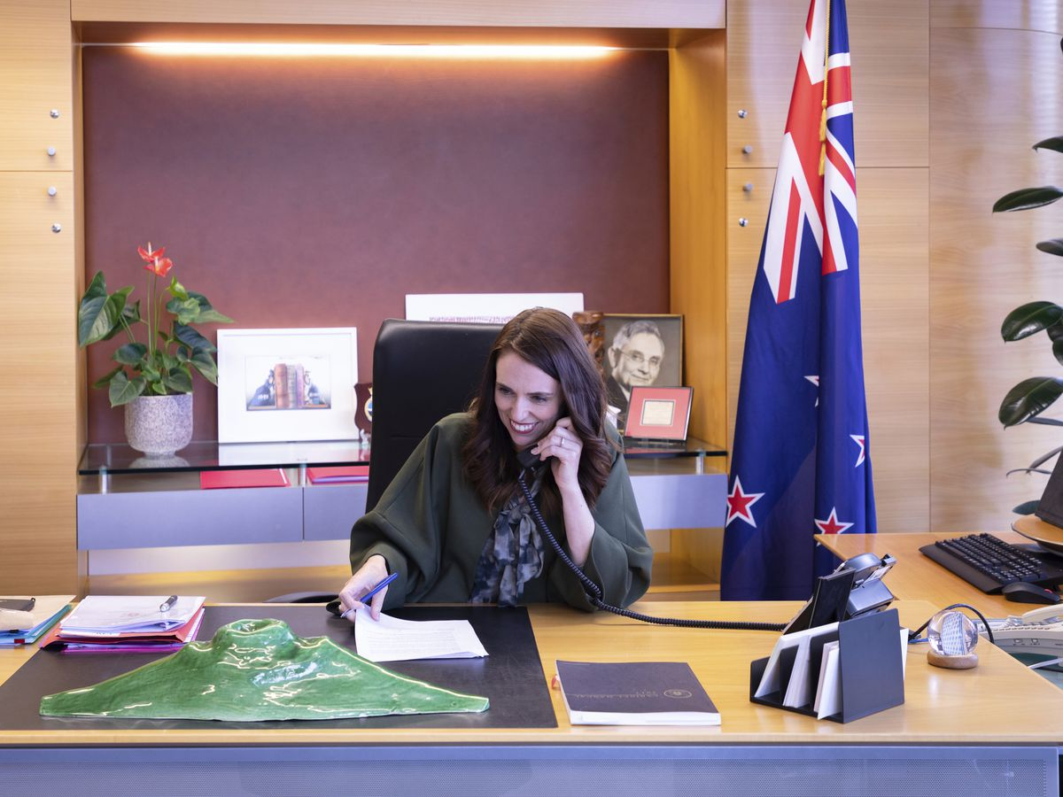 New Zealand leader Ardern offers virus know-how to Joe Biden