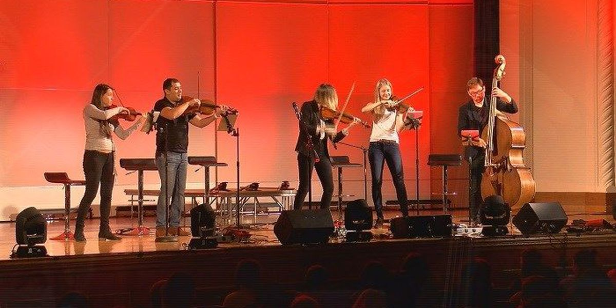 Dallas String Quartet performing in Wichita falls