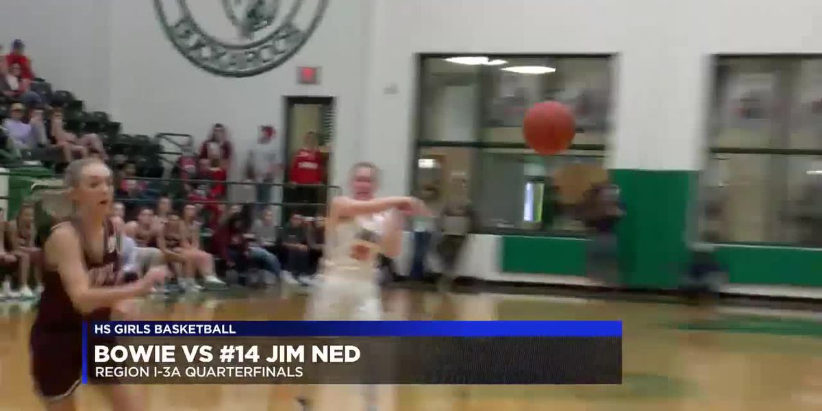 Bowie girls fall to No. 14 Jim Ned