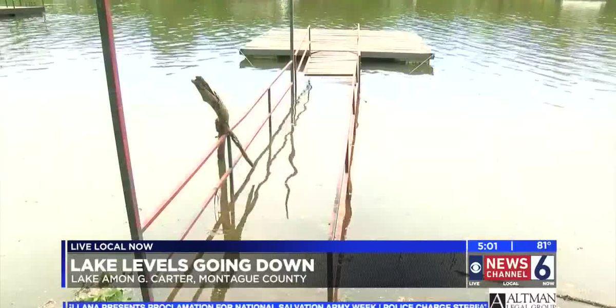 Levels keep Lake Amon G Carter closed