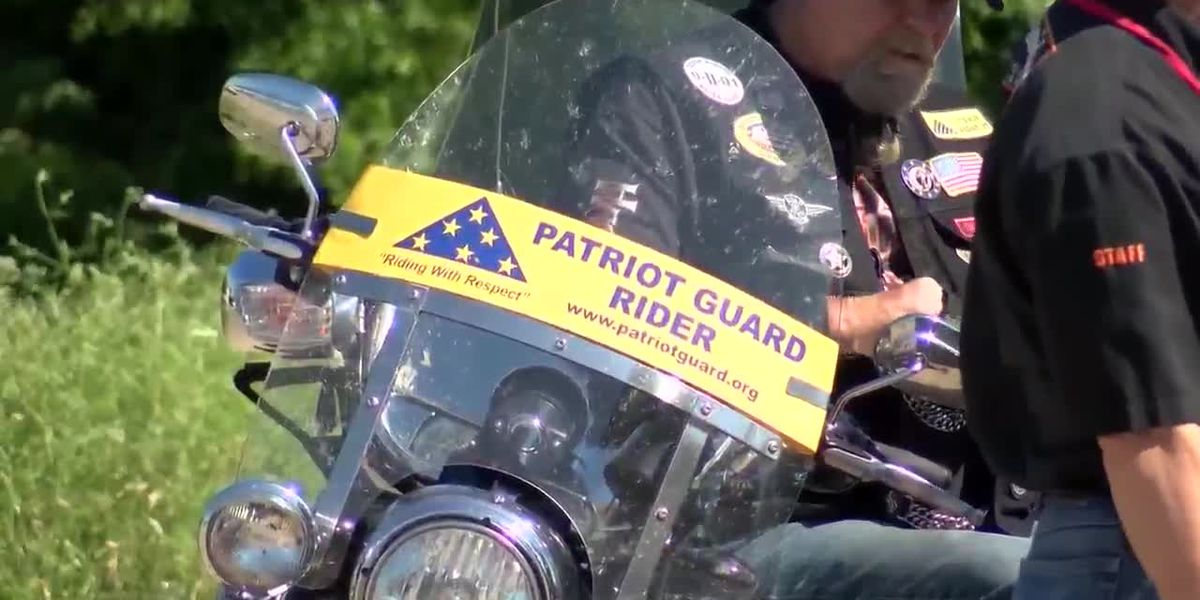 Patriot Guard Riders stop by Wichita Falls, meet law enforcement