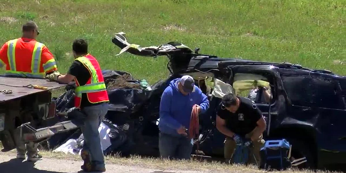UPDATE: I-44 roll over sends two Wichita Falls residents to hospital