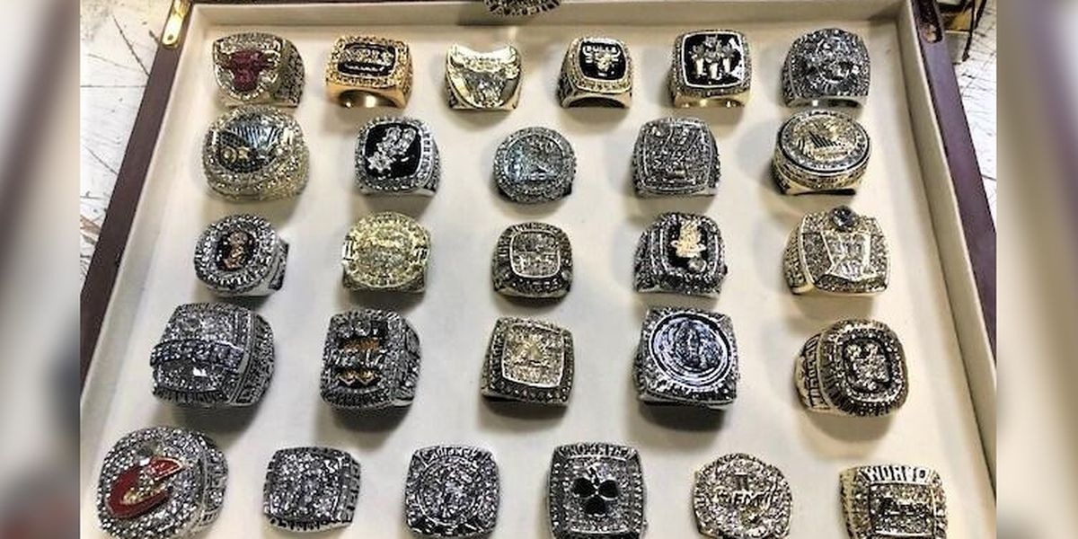 Counterfeit NBA championship rings seized at LA airport