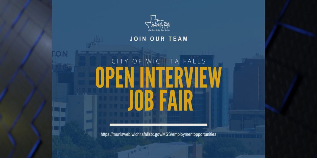 City of WF to host open interview job fair on Friday
