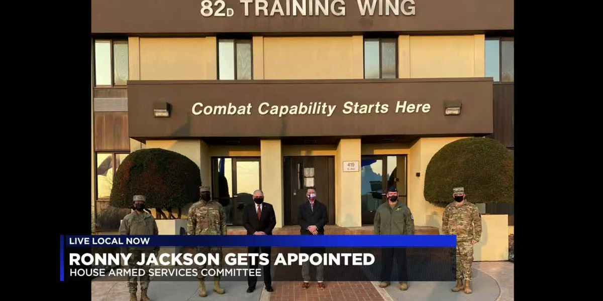 Ronny Jackson appointed to House Armed Services Committee