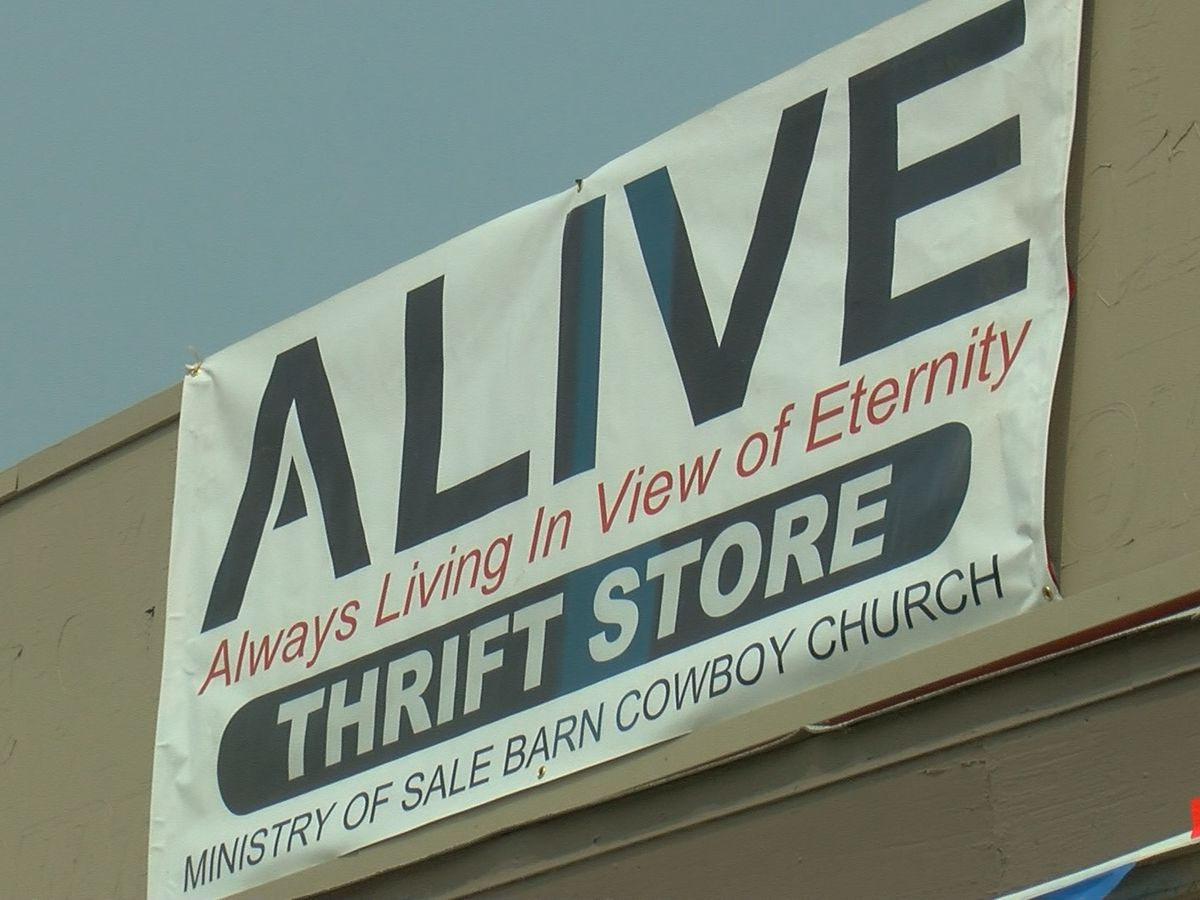 Thrift store aims to bring change to the community