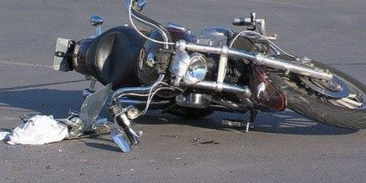 Motorcycle Accidents Lands One Man in Hospital