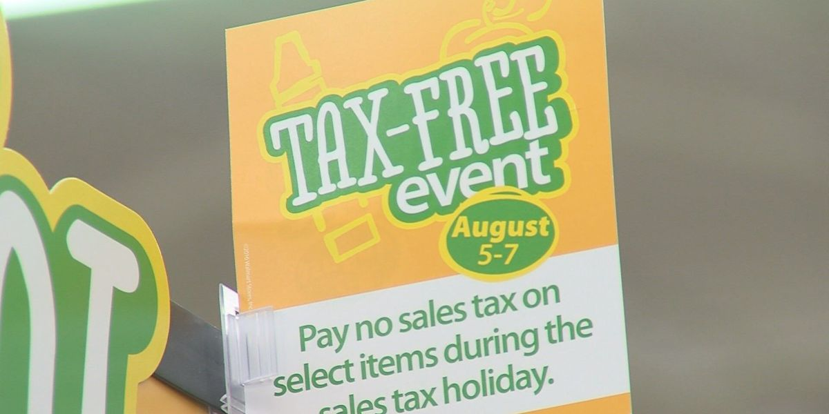 Texas Tax Free Weekend: August 5th-7th