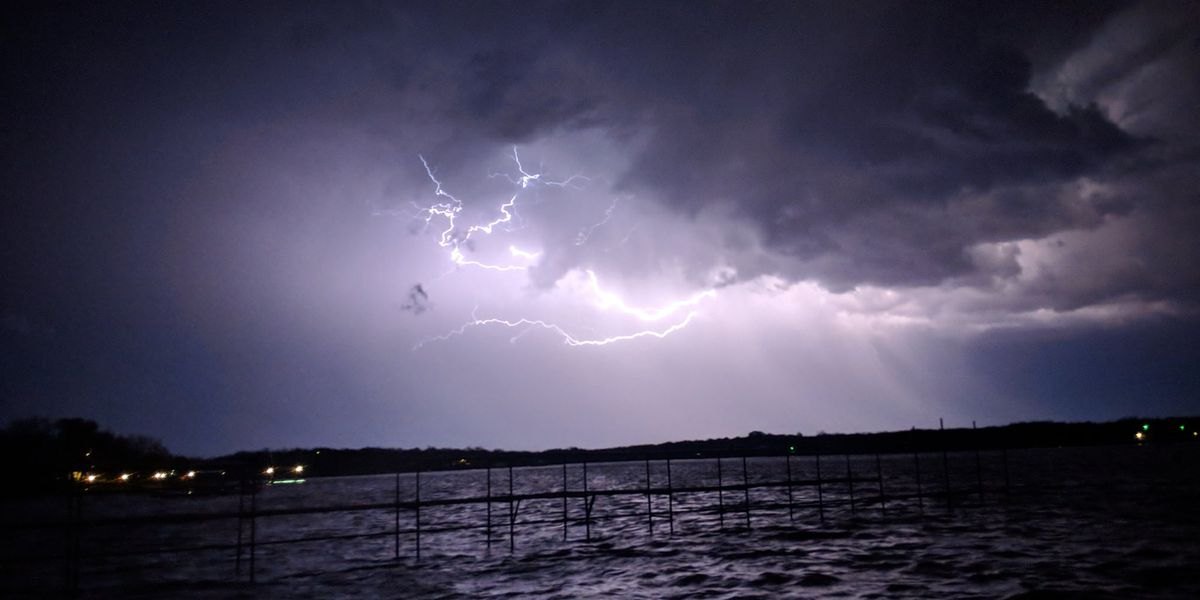 First Alert Weather Photos from Friday Night's Storms