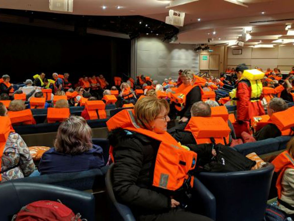 Norway cruise ship guests recall tipping, terror of water