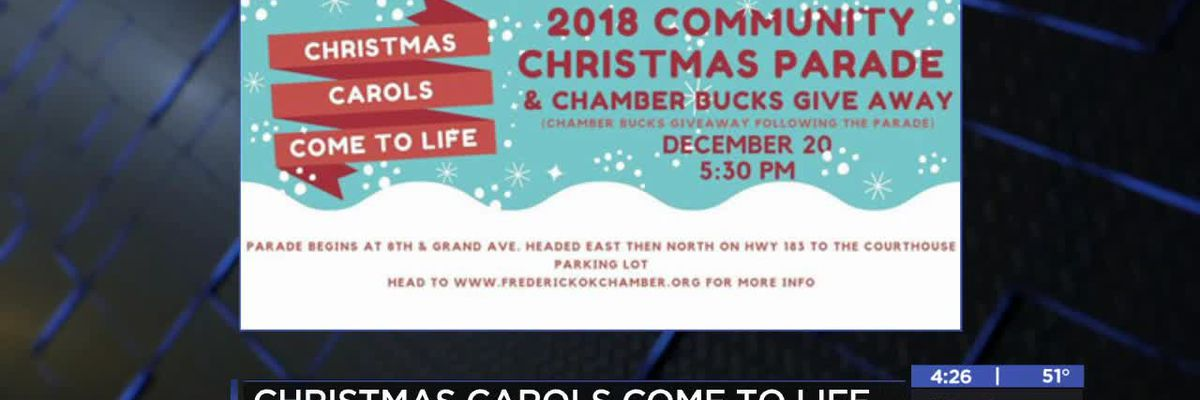 Christmas Carols Come to Life in Frederick this holiday season