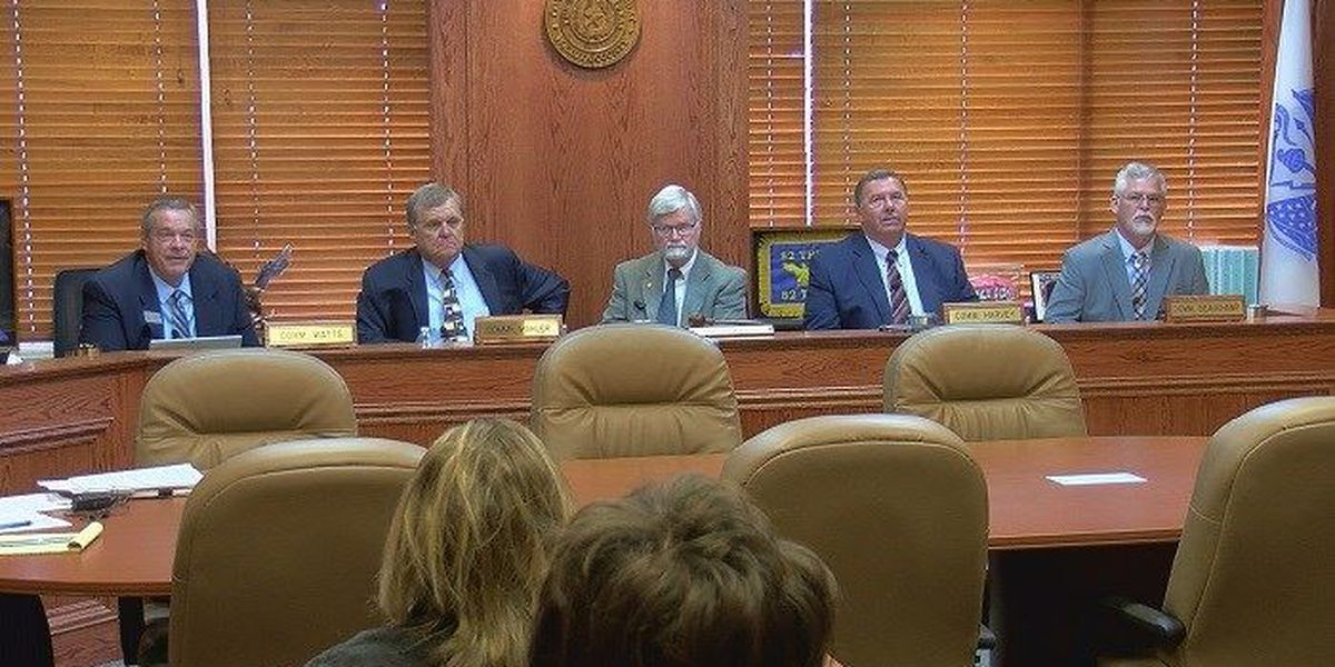 Wichita Co. Commissioners elected to jail project committee