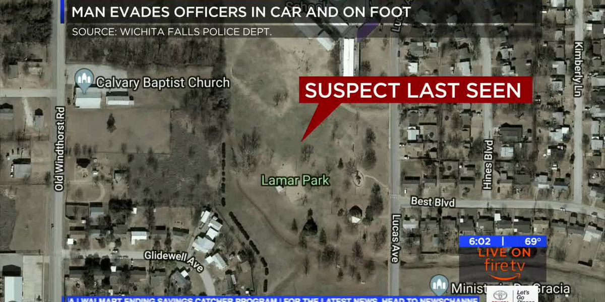 Police look for man who led officers on car, foot chase