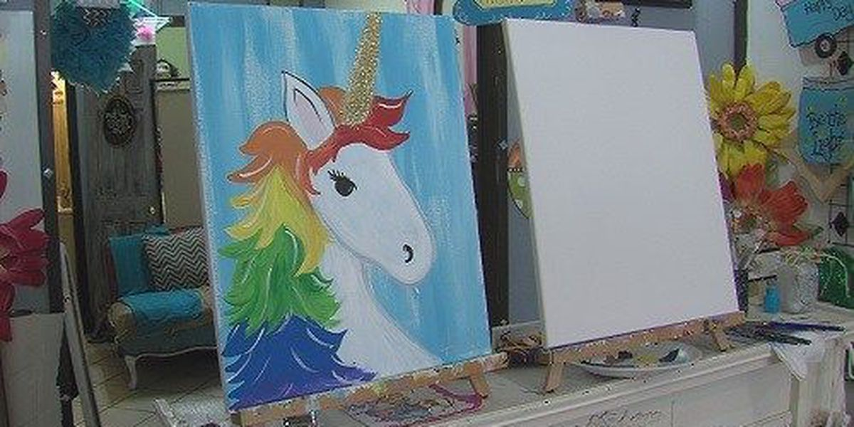 Unicorns and Rainbows Day Camp held in downtown Wichita Falls