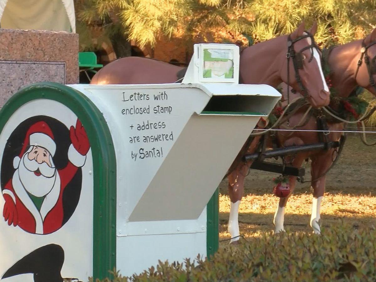 Santa's Mailbox open for letters through Dec. 13