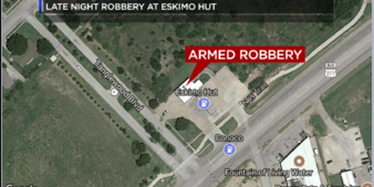 Eskimo Hut on Seymour Highway robbed