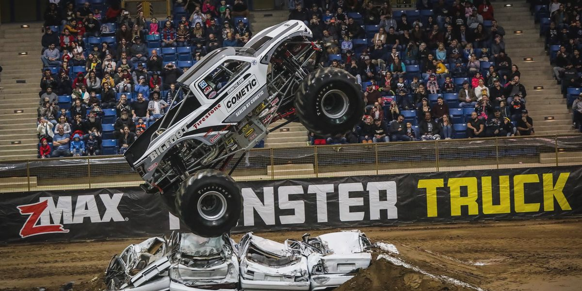 Kicker Monster Truck Nationals at the MPEC this weekend