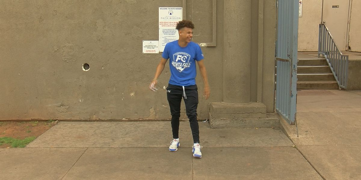 Soccer player opens up about stay at Faith Mission