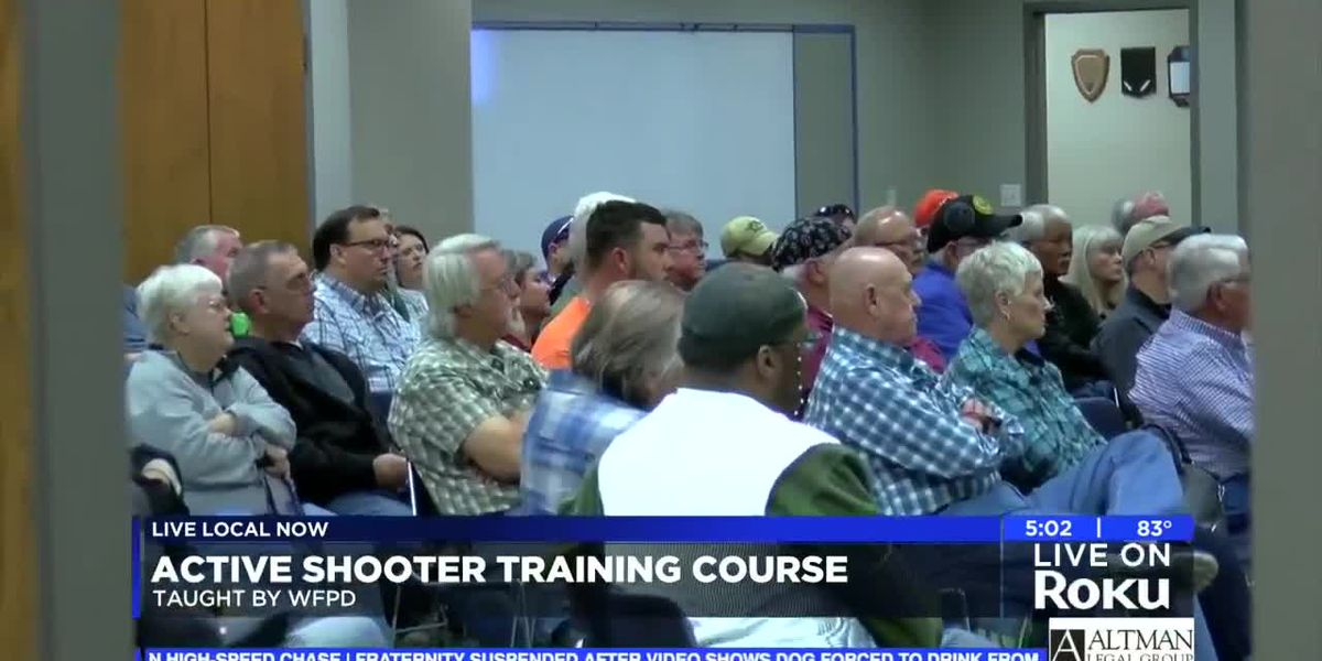 Wichita Falls PD to host active shooter training for public