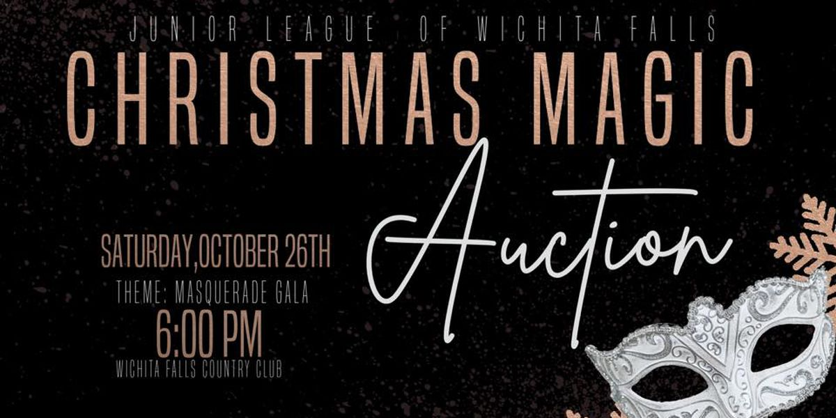 38th Annual Christmas Magic Auction kicks off the holiday spirit