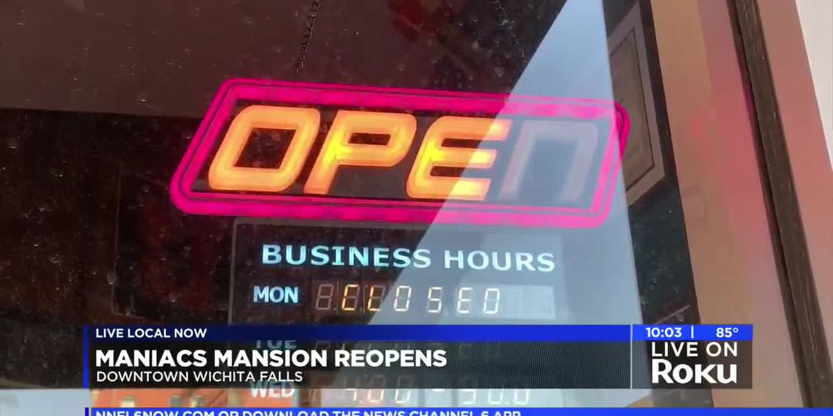 Maniac's Mansion reopens in downtown WF