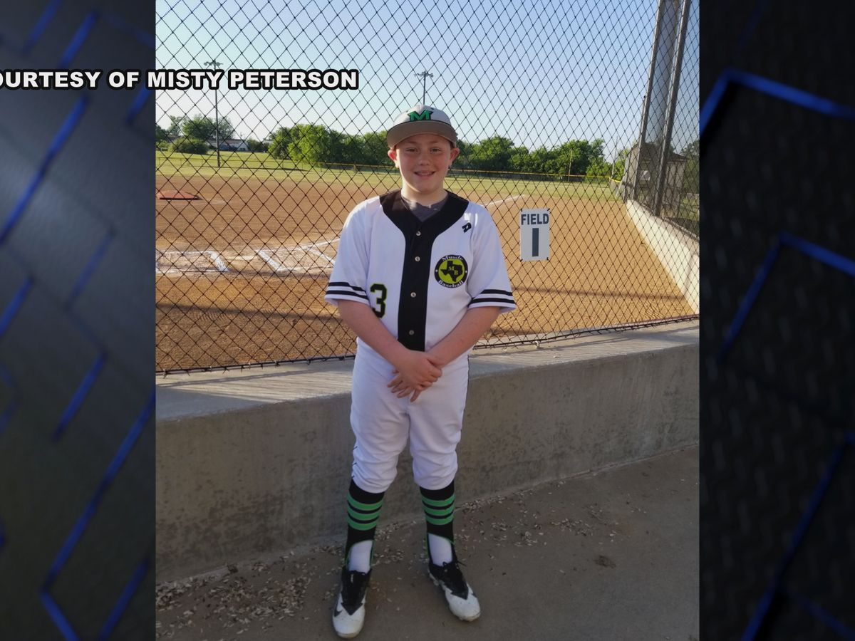 Vernon College baseball team to retire jersey in honor of young man