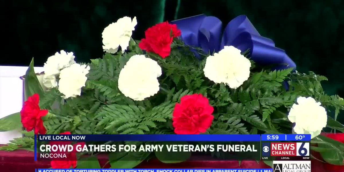 Friends of Nocona Veteran Pleased to See Funeral Turnout