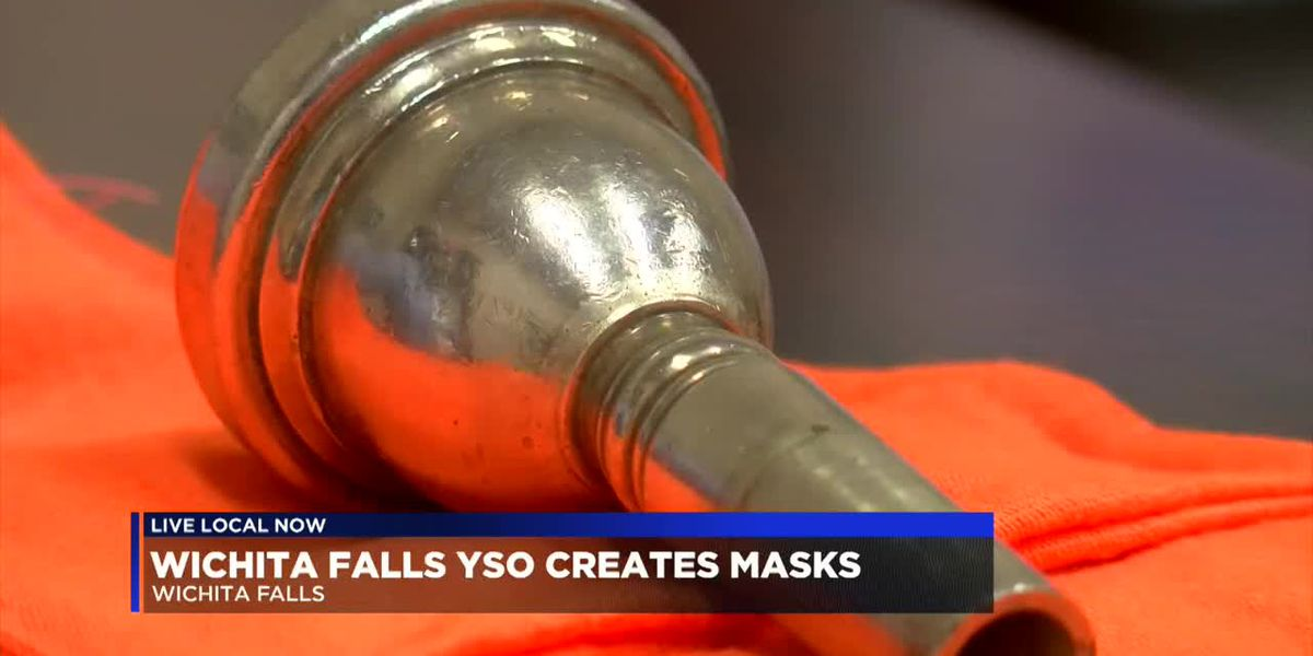 WF Youth Symphony Orchestra creates special masks for students