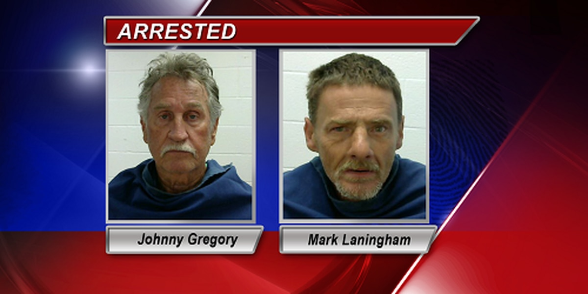 Two arrested after call about suspicious activity