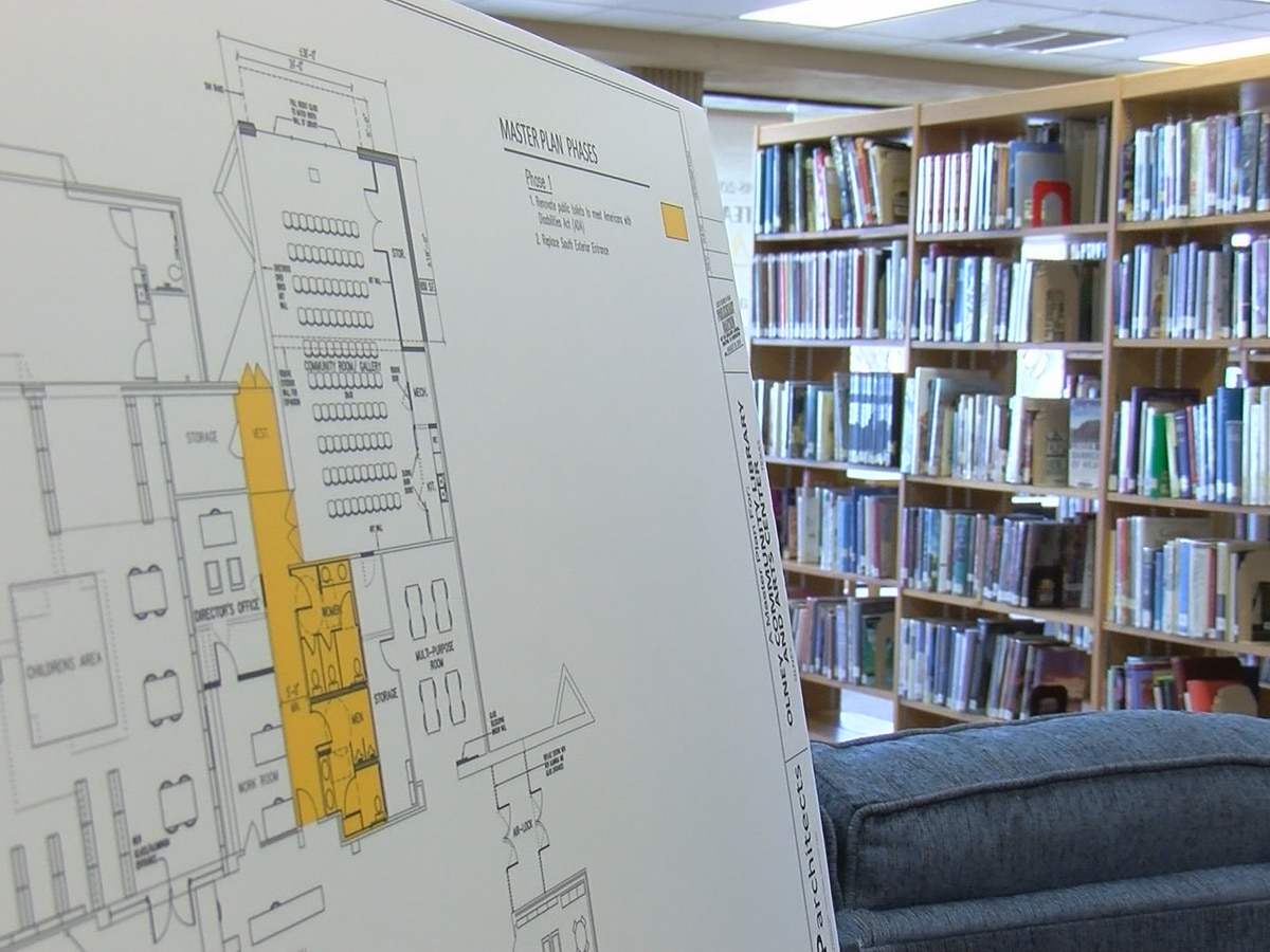 Olney Community Library to begin first phase of renovations