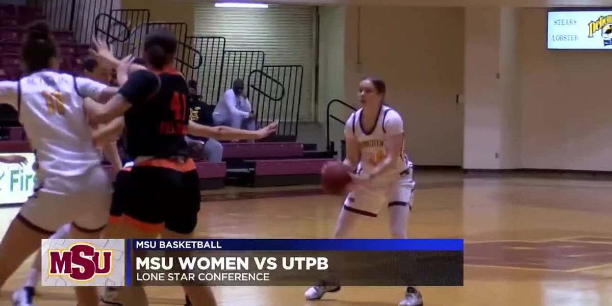 MSU women thrive in 4th quarter against UTPB