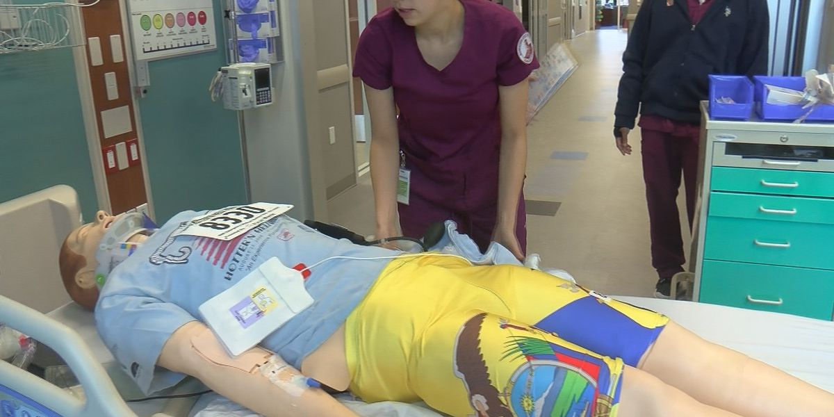 Disaster simulation trains MSU Texas students