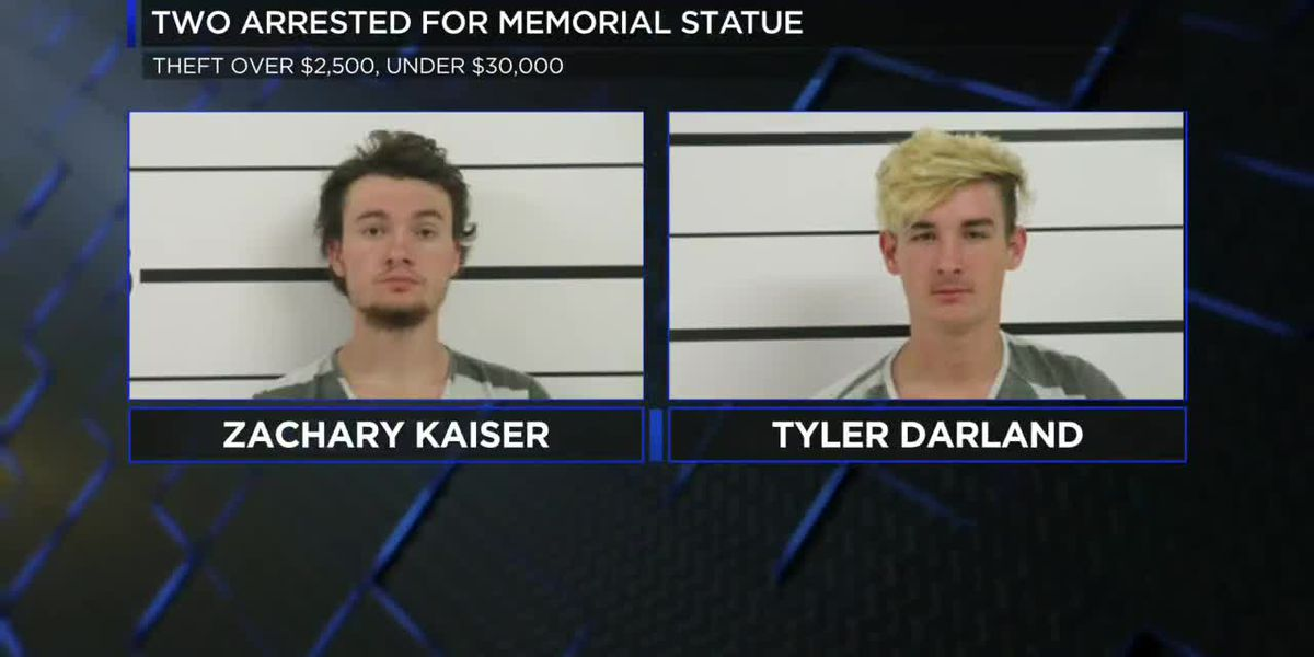 "Two indicted for theft of ""Forever"" horse statue"
