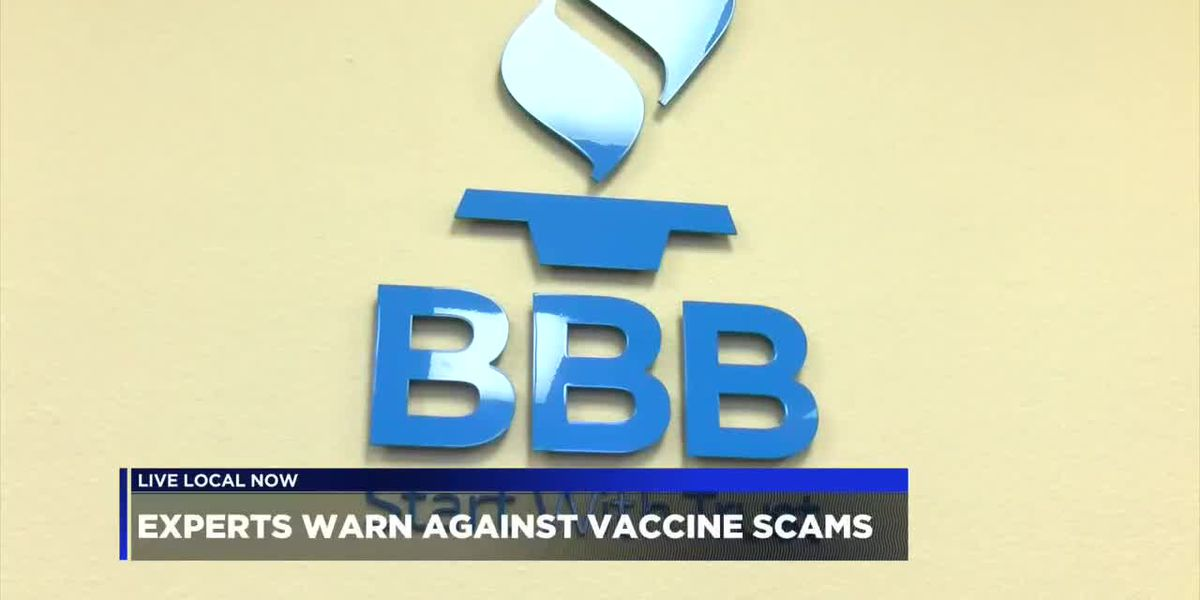 BBB warns consumers of COVID-19 vaccination scams