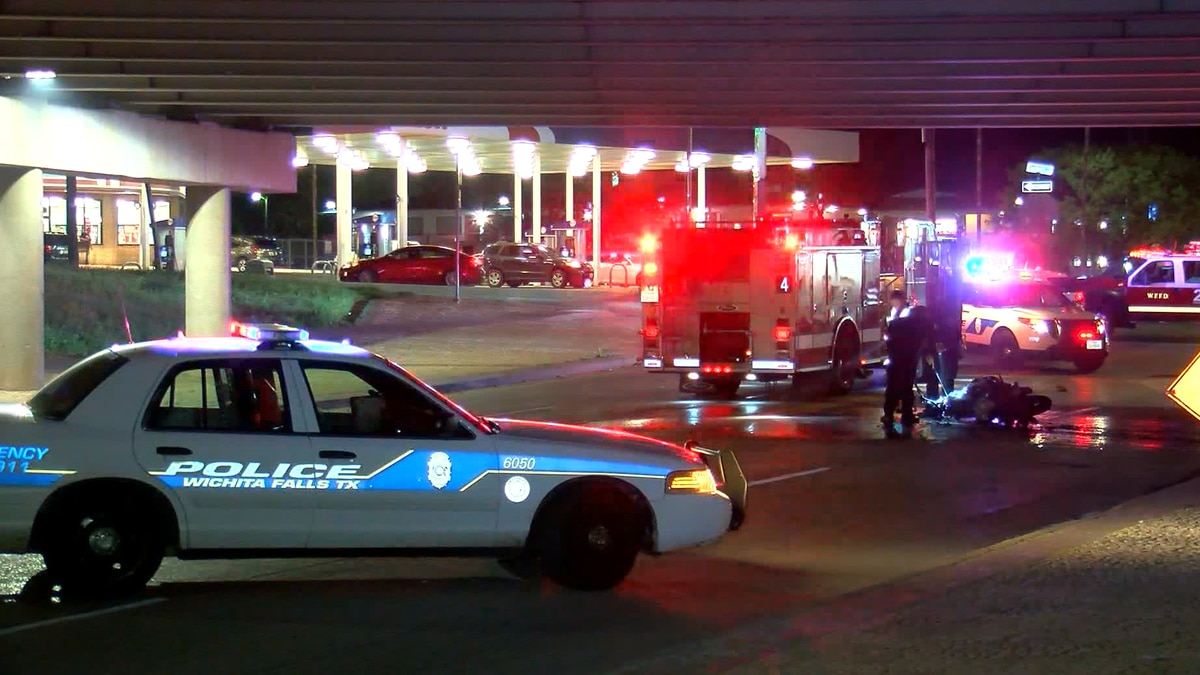 One hospitalized after hit-and-run motorcycle crash on Maurine Street