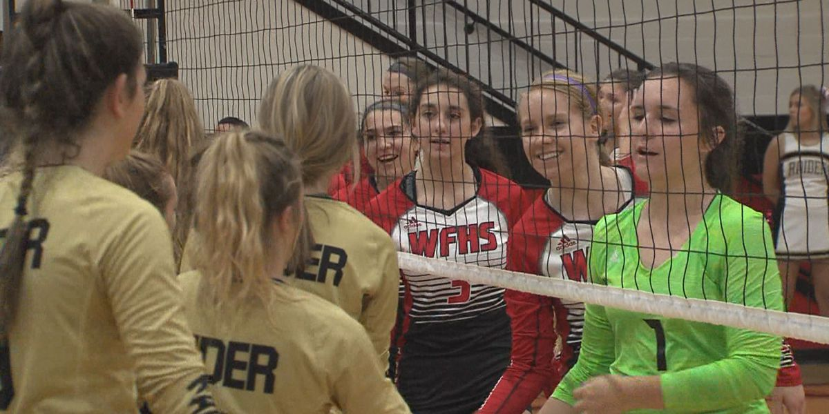 Highlights from Rider - Old High Volleyball