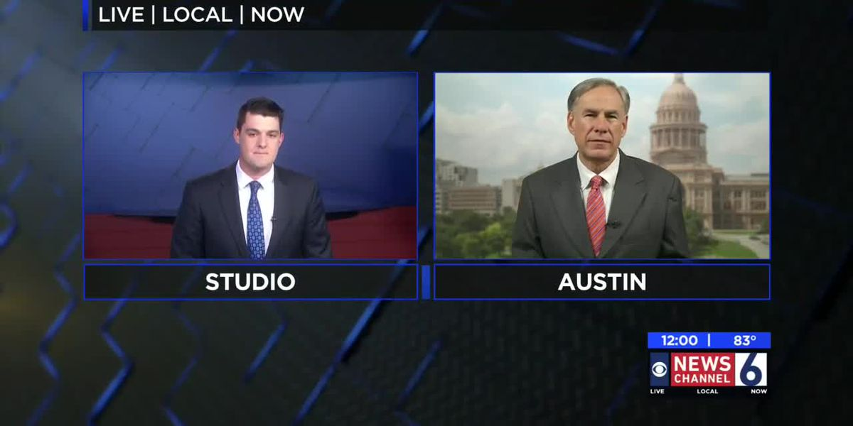 Gov. Abbott talks COVID-19 spikes in Texas, TEA school guidelines, reopening the state