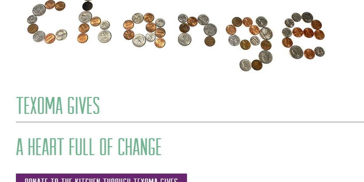 The Kitchen talks Texoma Gives change donation event