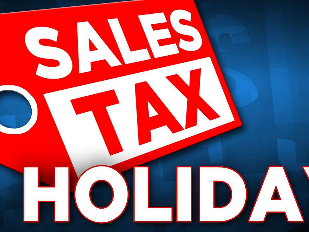 Texas sales tax holiday weekend starts Friday