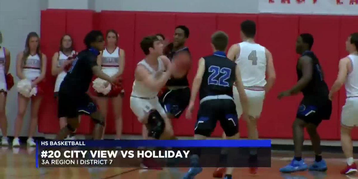#20 City View hangs on to secure district win over Holliday