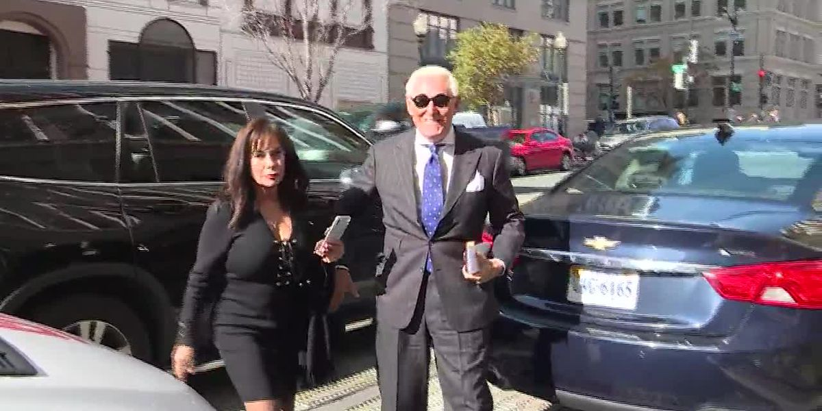 Jury finds Trump ally Roger Stone guilty