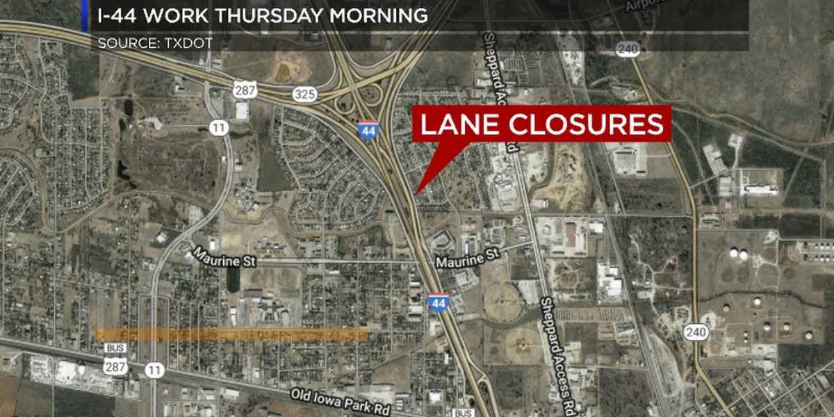 Work on I-44 will impact Thursday morning commute