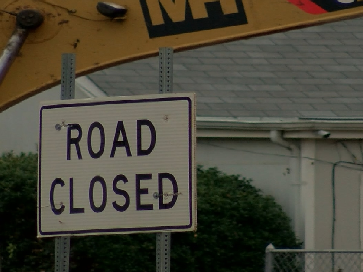 8th Street closure in effect until Thursday