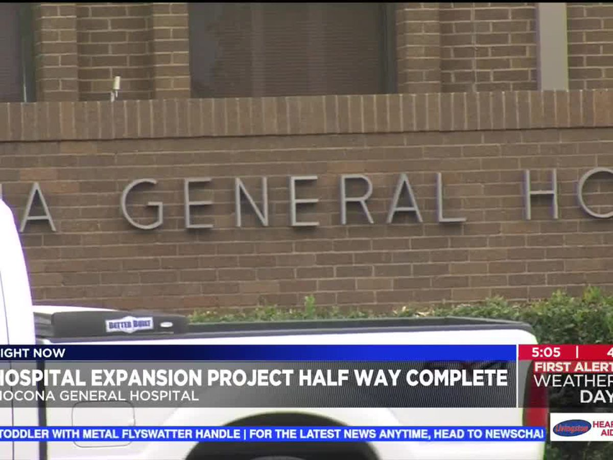 Nocona General Hospital expansion project nears completion
